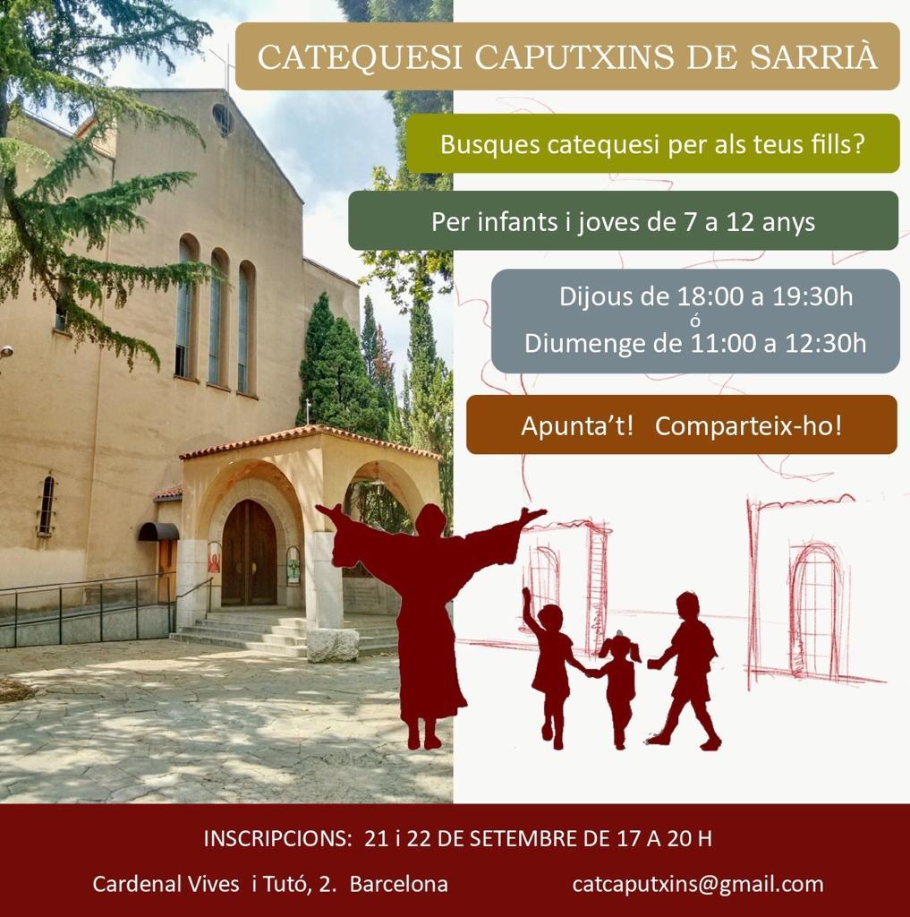 Catequesi infants i joves Sarrià