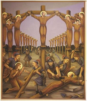 Sants Pere Baptistas i companys
