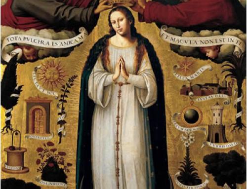 La Concepció Immaculada de Santa Maria | 8 de desembre