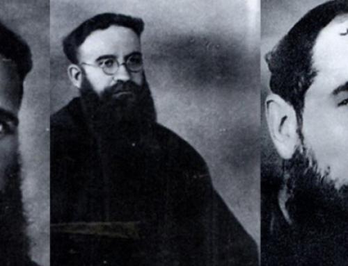 Reconeixement del martiri de tres caputxins catalans