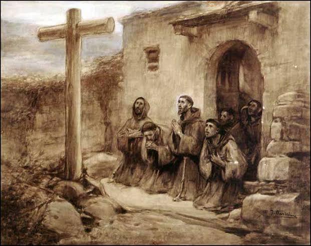 Pas de sant Francesc per Catalunya