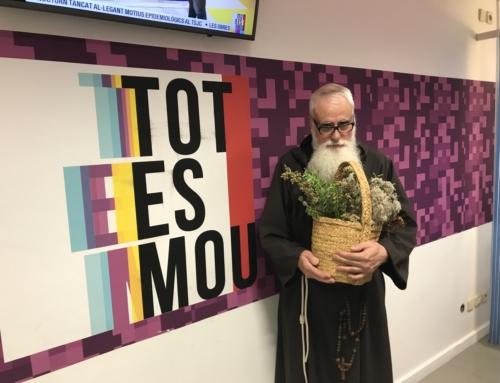 "Entrevista de fra Valentí a ""Tot es mou"" de TV3"