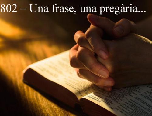 Frase pregària 802